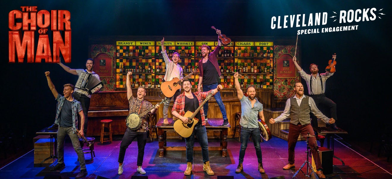 choir of man guys singing cleveland
