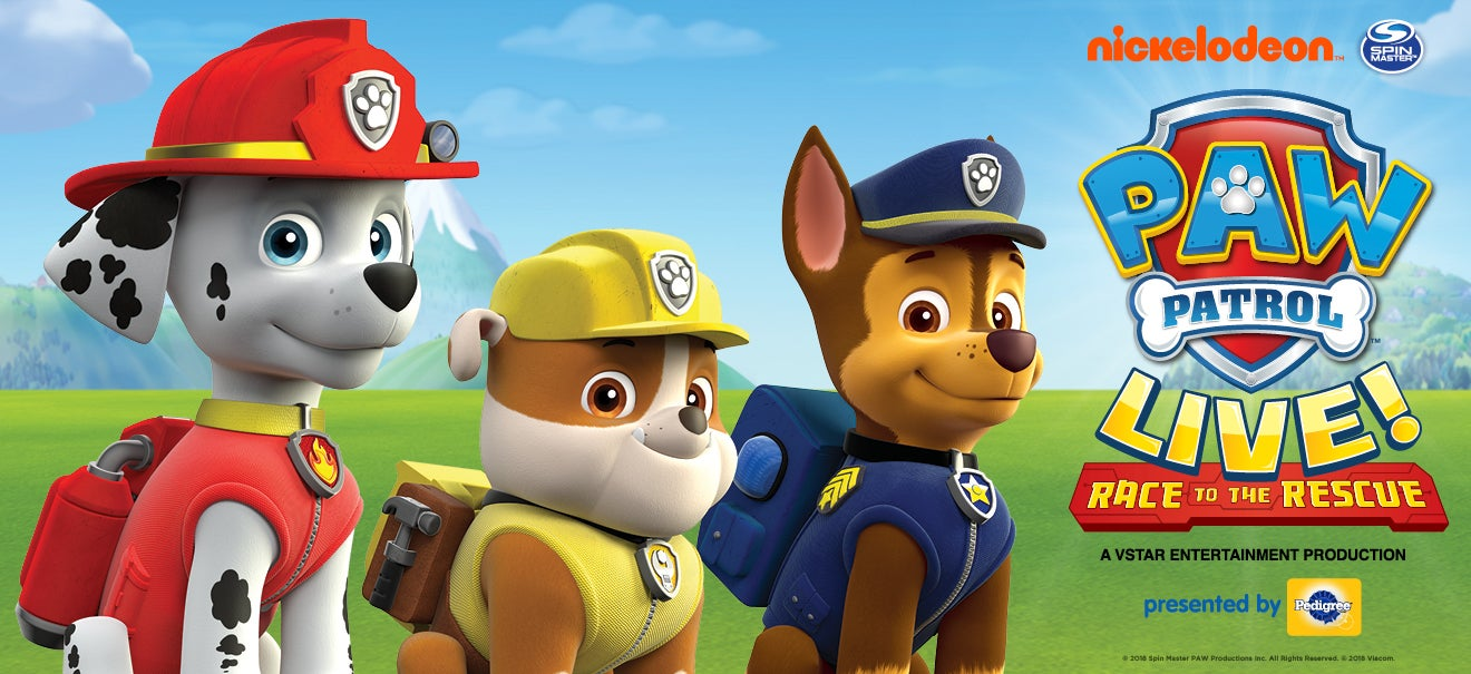 Paw Patrol Live!: Race to the Rescue | Playhouse Square