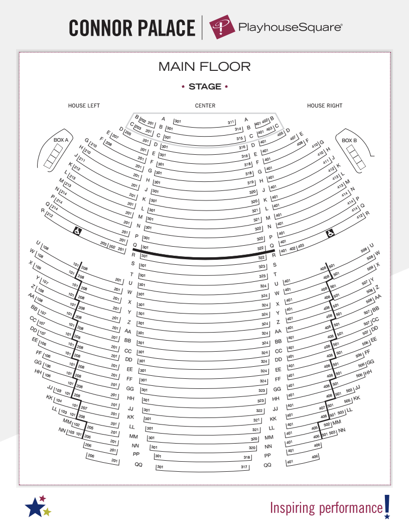 State Theater Cleveland Seating Map Brokeasshome Com