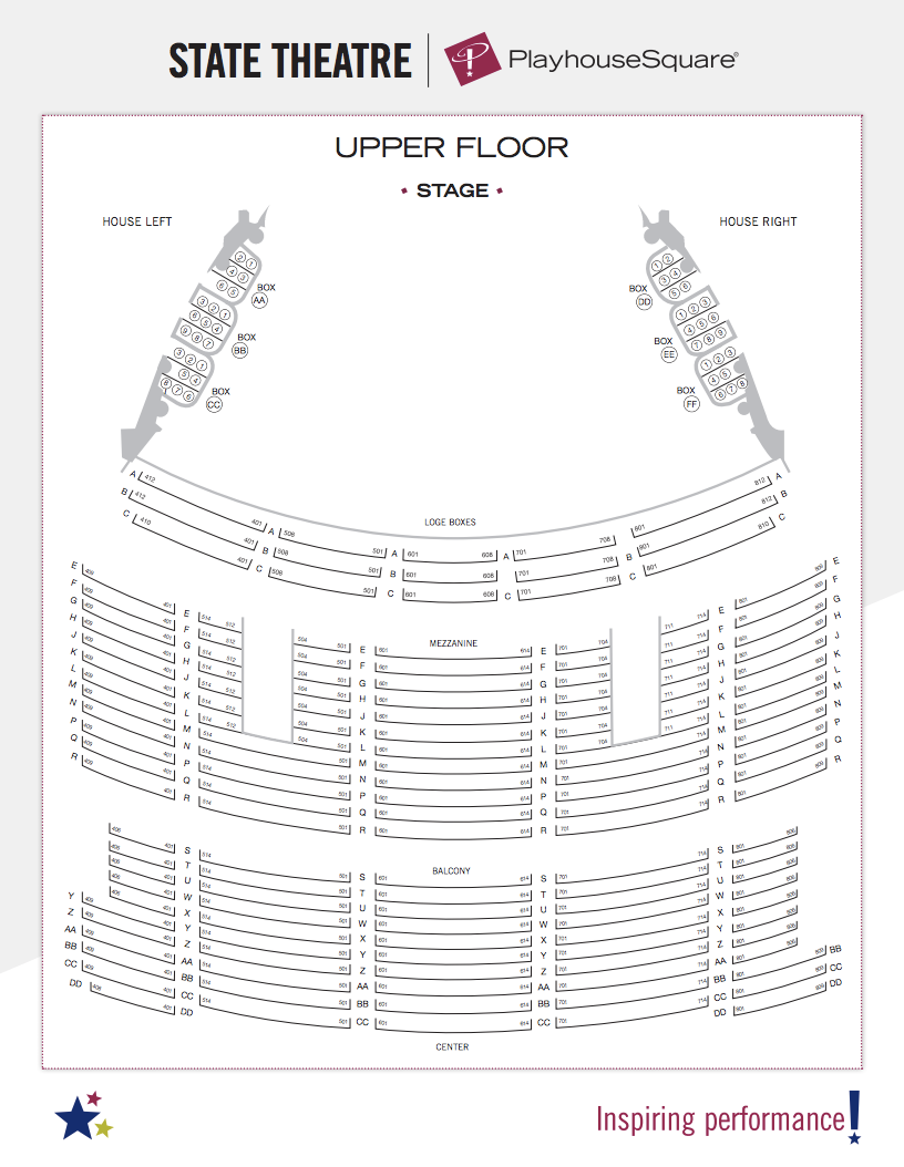 Unique Keybank State Theater Cleveland Seating Chart