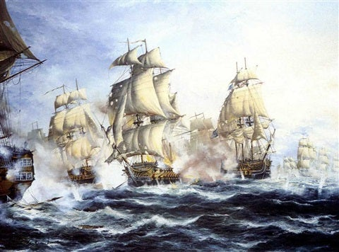 The Battle of Chesapeake Bay September 5, 1781.jpg