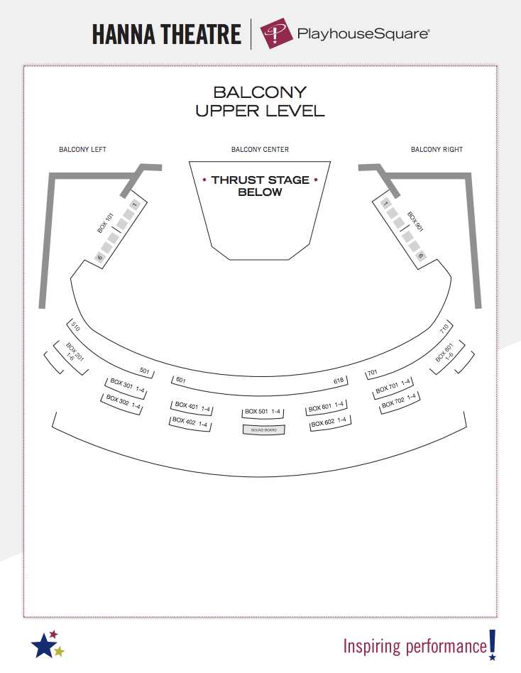 Seating Charts | Playhouse Square