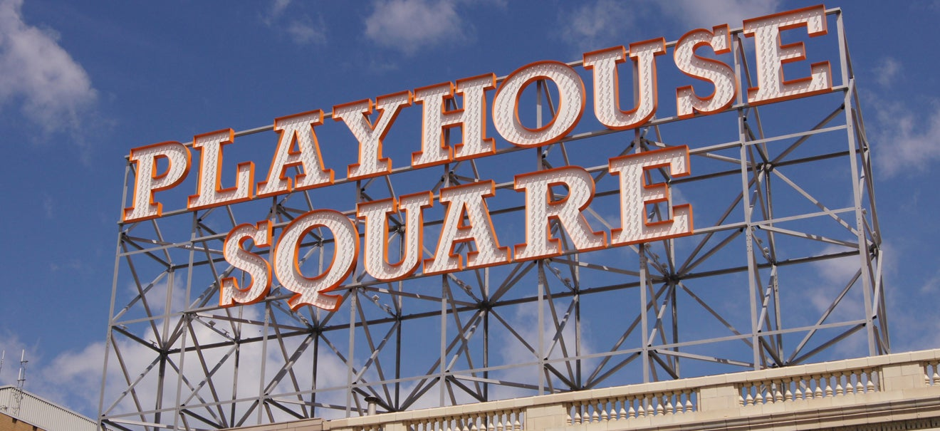 Playhouse Square Retro Sign | Playhouse Square
