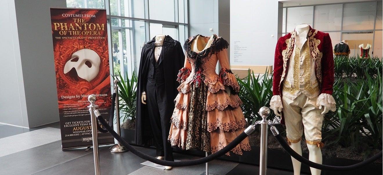 The Phantastic Costumes Of The Phantom Of The Opera Playhouse Square